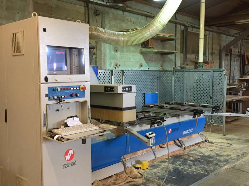 Centre d'usinage 3 axes CNC