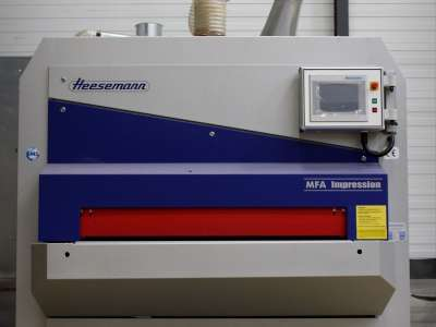 Ponceuse de surface 1.350mm HEESEMANN